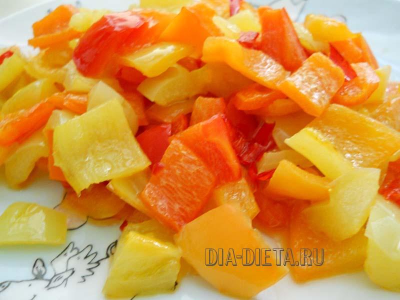 Можно ли болгарский перец при сахарном диабете