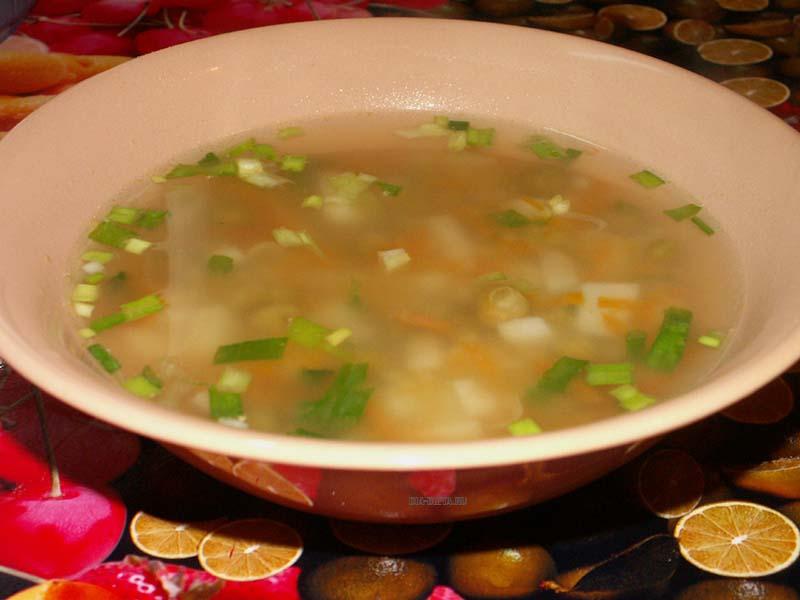 Овощной суп для сахарного диабета у