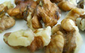 Кабачки с грецкими орехами