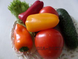 Овощи в аэрогриле