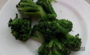 Суп-пюре овощной с брокколи
