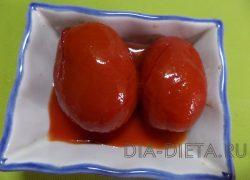 Быстрые помидоры в остром маринаде